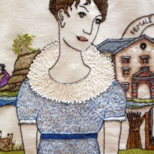 Fiber Lover's Tour and the Scottish Diaspora Tapestry