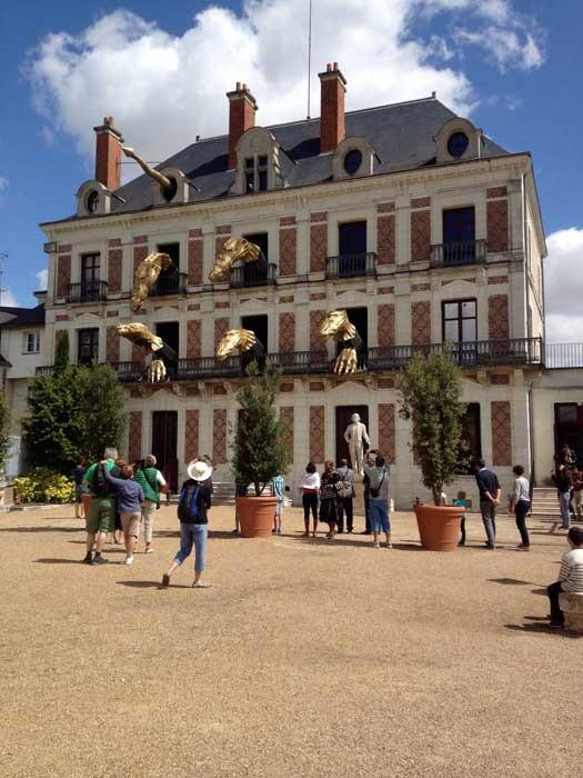 chateau royal de blois la maison de la magie and blois cathedral