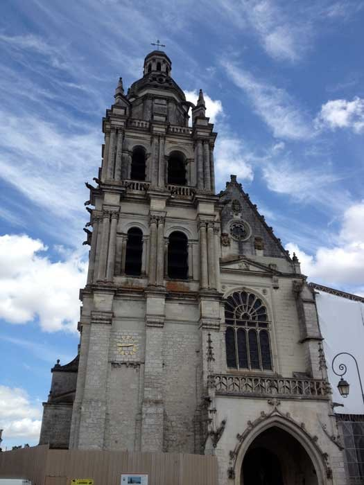 Blois Cathedral aka Cathedral of St. Louis