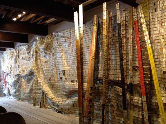 El Anatsui Installation