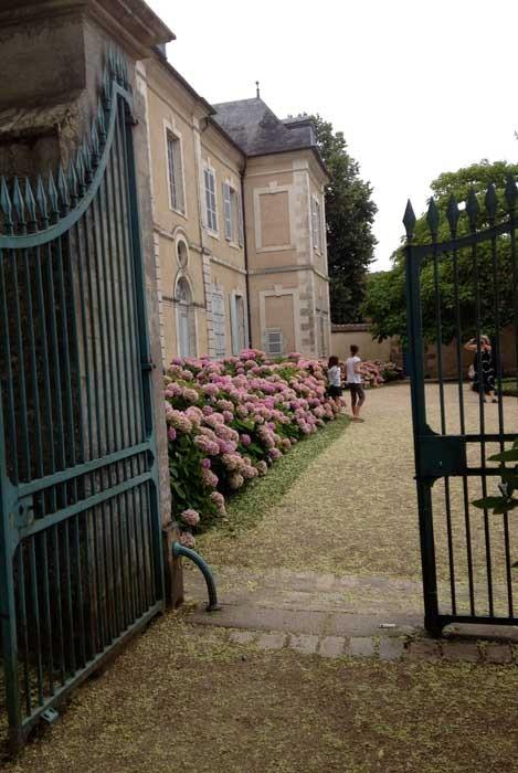 George Sand Home--Garden Entrance