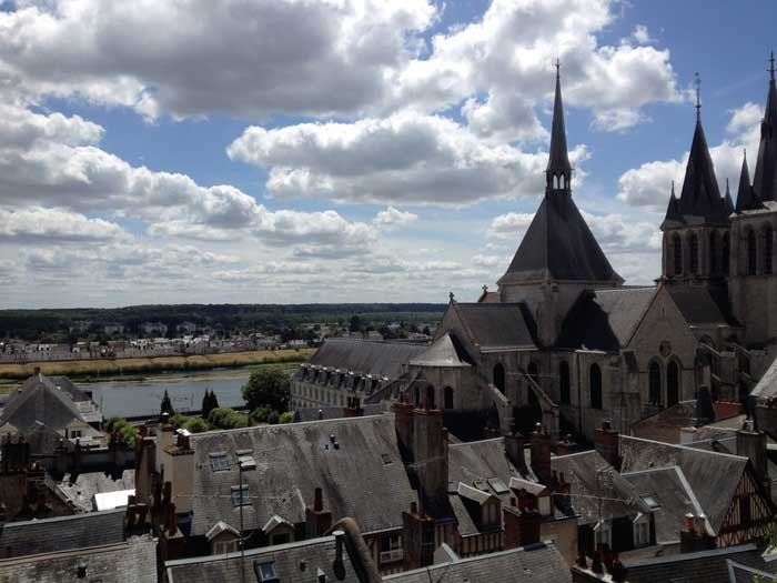 City view from the Chateau Royal of Blois