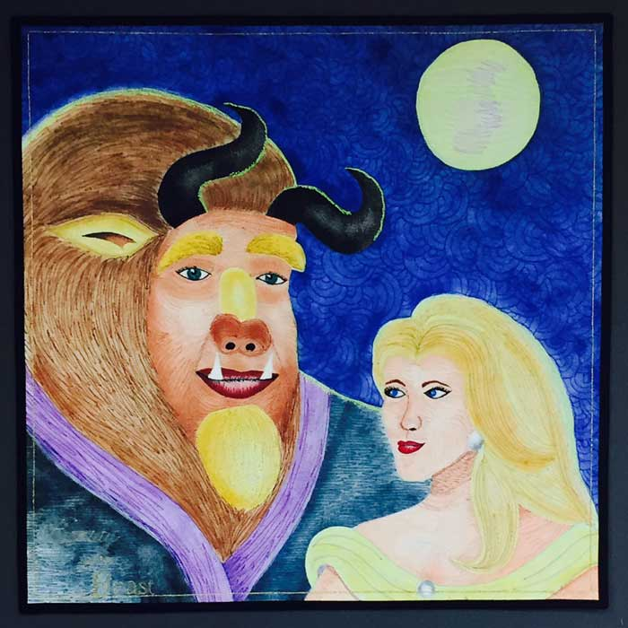 Beauty and the Beast by Jo Baner