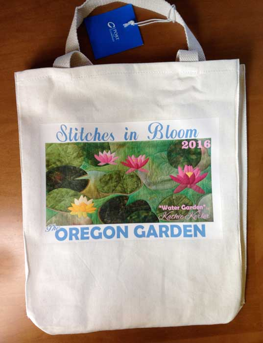 "Tote Bag featuring ""Water Garden"""