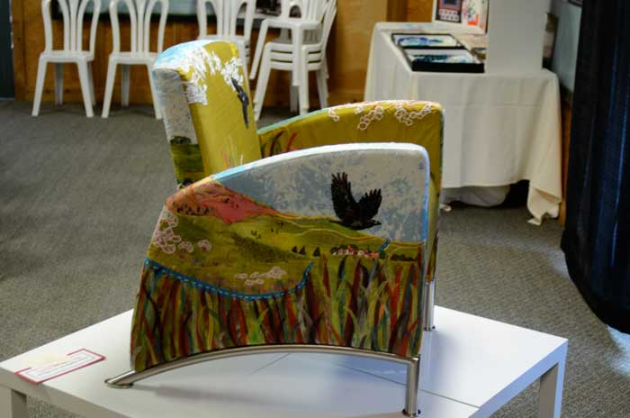 Wanderlust Armchair Traveler, view three by Maria Winner