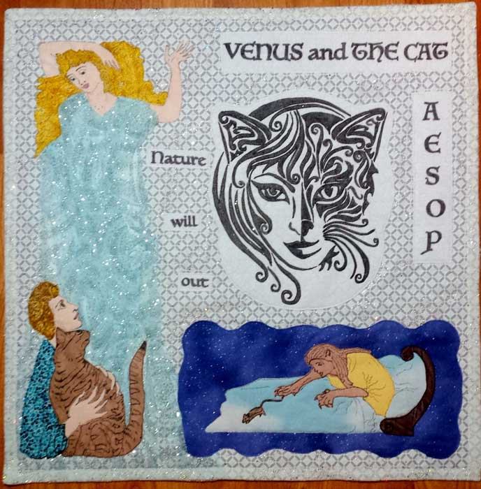 """""""Venus and the Cat"""" by Cynde Pakros"""