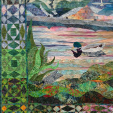 In the spotlight with the Best of Show–Umpqua Valley Quilters' Guild
