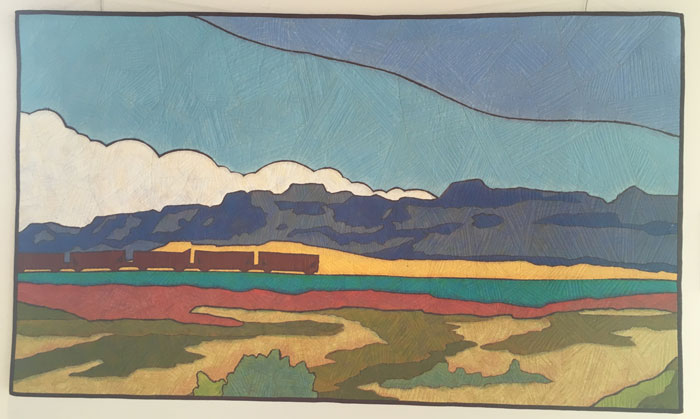 Utah Train by Terry Grant