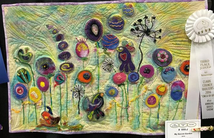 My Secret Garden by Kathy Bauman, Third Place Naturescape.