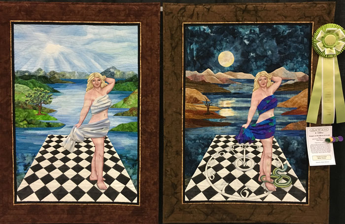 Images in the Mirror #1 and #2 by Judith Phelps, Best of Show