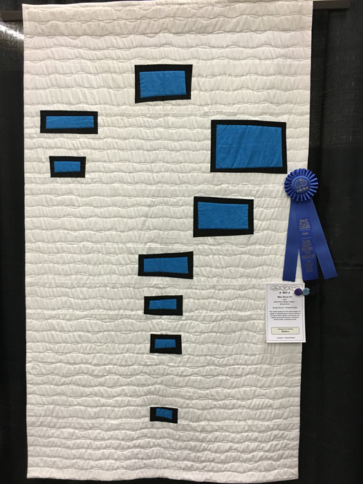 Who Done It? by Dianne Kane--First Place Modern