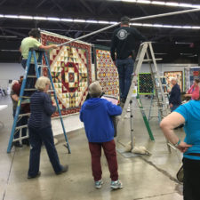 Liquor is Quicker at the Quilt Show!
