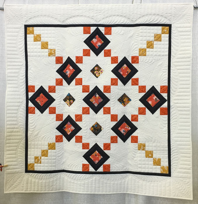Kazumi Peterson, maker and quilter
