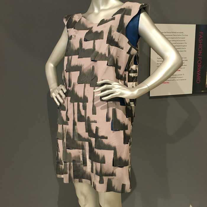 "Artist: Patricia Michaels ""Cityscape Dress"" Project Runway, Season 11"