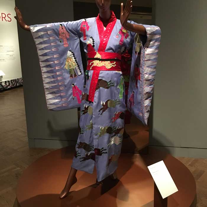 Toni Williams Kimono and Obi Silk with appliqué