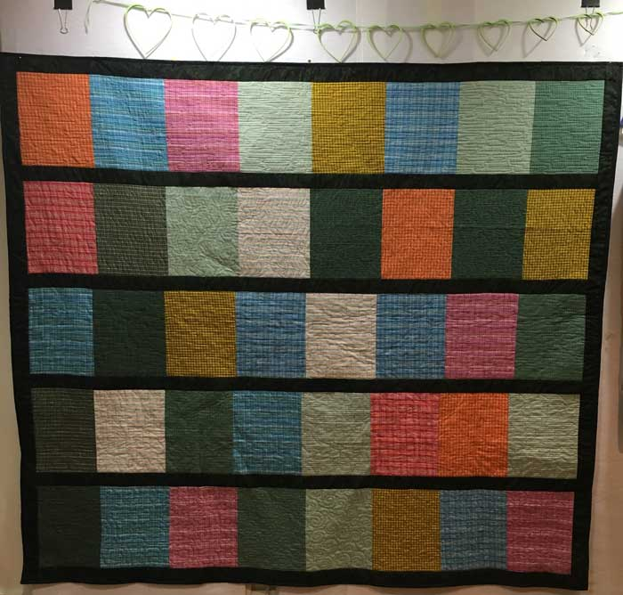 Grieser family auction quilt