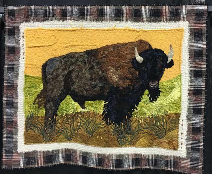 American Bison by Ann Horton