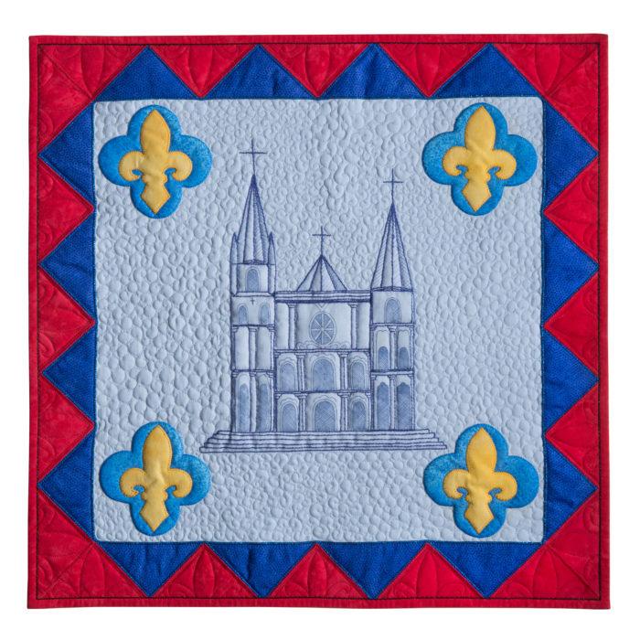 The Magic of Chartres Blue or La Magie du Bleu de Chartres