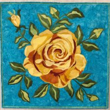Melinda Bula's Summer Rose Pattern